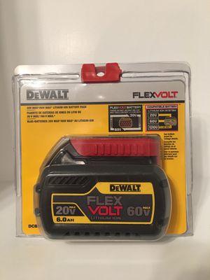 Dewalt 6.0 Flexvolt batteries for Sale in Wichita, KS