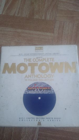 The Complete Motown Anthology 10 Volume Collection Photo Disc for Sale in Houston, TX