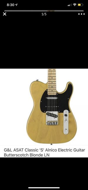 Guitar G&L new with big bag for Sale in The Bronx, NY