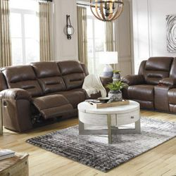 🎵Stoneland Chocolate Power Reclining Living Room Set🎵⏰39 DOWN⏰ for Sale in Houston,  TX
