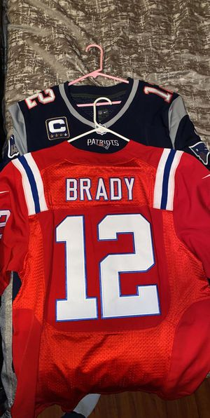 Tom Brady pats jerseys for Sale in San Bernardino, CA