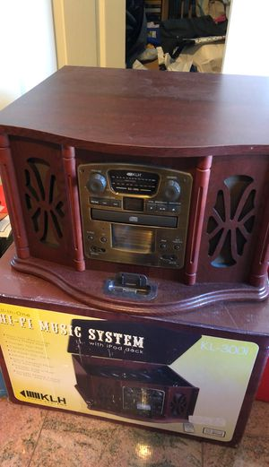 Brand new Hi-Fi music system all in one KLH audio iPod iPhone speaker for Sale in Mountain View, CA