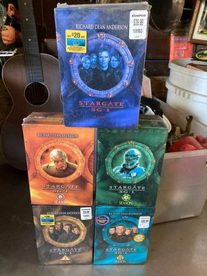 STARGATE SG-1 SERIES Collectors DVD for Sale in Middletown, NJ