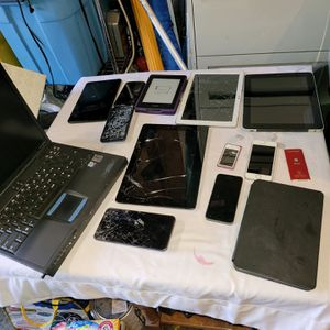 Laptop And Phones And Tablets For Parts $15 for Sale in Covington, WA