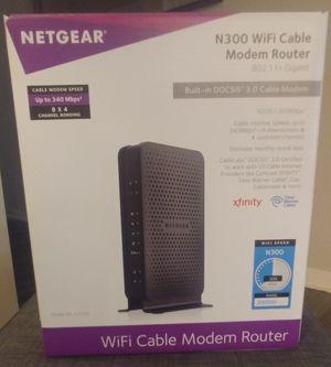 NetGear N300 Modem/Router Combo for Sale in Chandler, AZ