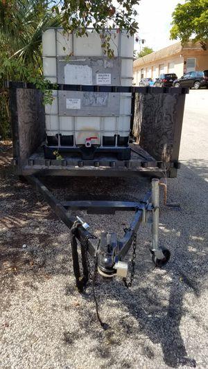 UTILITY TRAILER ALMOST NEW 5 X 8 FT for Sale in Pompano Beach, FL