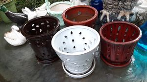 Ceamic Orchid Pots for Sale in Fort Lauderdale, FL