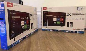 55 TCL 4K Smart ROKU TV for Sale in Lawndale, CA