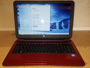 HP 15 notebook laptop for Sale in Gastonia, NC