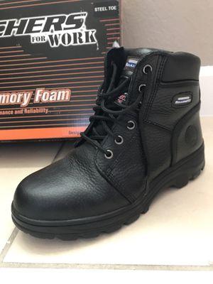 Zapatos size 9 de punta de acero, Steel Toe Shoes, work shoes for Sale in Miami, FL