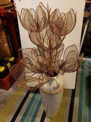Decorative metal lotus flowers for Sale in Henderson, NV