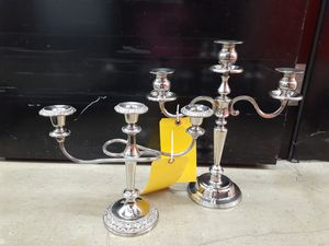Candelabra silver for Sale in Plainfield, IL