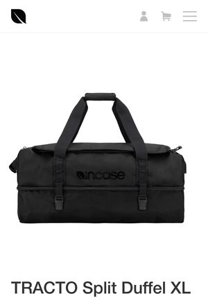 Incase Tracto 120L duffle bag for Sale in Gilbert, AZ
