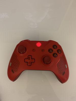 Xbox one s sport red controller for Sale in Bakersfield, CA