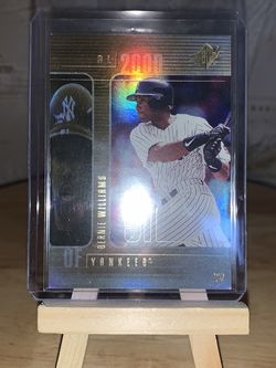 Bernie Williams —2000 Upper Deck SPx Baseball Card for Sale in Lodi,  CA