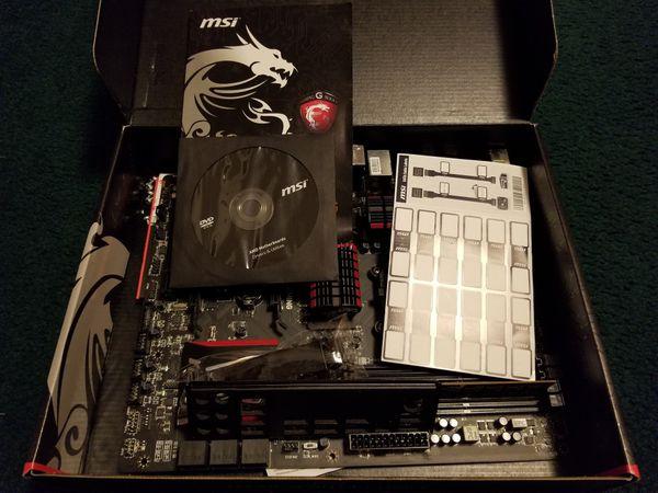 Gaming computer motherboard