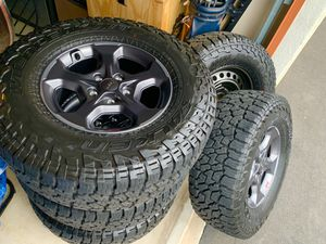Jeep Gladiator Rubicon OEM Wheel & Tires for Sale in Chandler, AZ