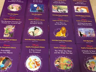 Disney 12 Books Family Storybook Library Collection for Sale in Smyrna,  TN