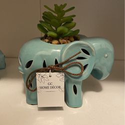 New Blue Elephant Fake Plant for Sale in San Diego,  CA