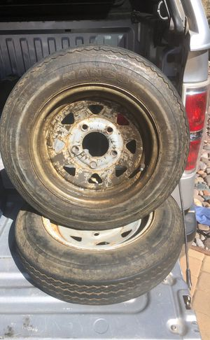 5 lug trailer tires for Sale in Valley Center, CA