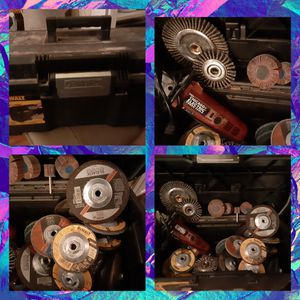 Grinder and Wheels for Sale in Crosby, TX