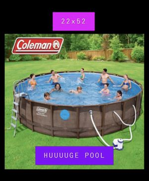 BIGGEST POOL YOU WILL NOT FIND ONE LIKE THIS ANYWHERE ELSE!! COLEMAN 22FTx5FT TALL!! 1 LEFT!! for Sale in Keller, TX