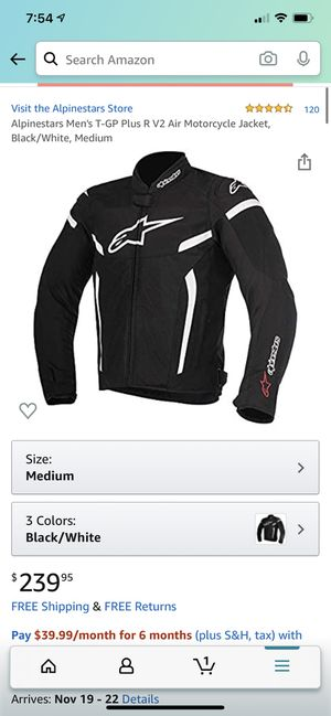 Alpinestar Motorcycle Jacket for Sale in St. Louis, MO
