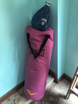 Punching bag with speed bag and training set. for Sale in Hermitage, TN