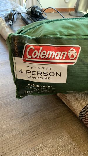 Coleman Tent for camping for Sale in Mercer Island, WA
