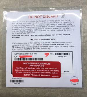 Windows 10 Professional product key for Sale in Fairfax, VA
