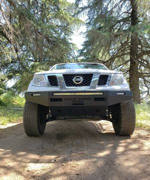 Nissan Frontier front bumper! Winch-capable STEEL PLATE FRONT BUMPERS! Made to order. PRICE LISTED IN DESCRIPTION! for Sale in Oak Glen, CA