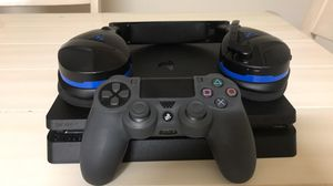 BLACK FRIDAY SALE! PS4, Controller with grip case, Turtle Beach EarForce Stealth Headset for Sale in Penndel, PA