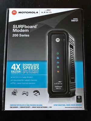 Motorola/Arris SURFboard Cable Modem 200 Series (SB6121) for Sale in Seattle, WA