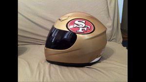 49ERS MOTORCYCLE HELMET for Sale in Downey, CA