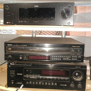 3 Piece Home Audio Set; RCA Surround Sound, 5 Disc CD Changer, and AV Receiver for Sale in OR, US