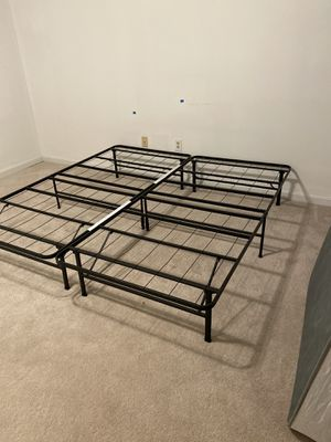 King size bed frame for Sale in Fairfax, VA