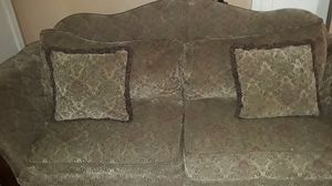 3-piece couches with reclining chair for Sale in Fresno, CA