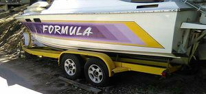 Formula offshore power hull no trailer , outdrive / 454 BBC engine is available for $3450. for Sale in San Bernardino, CA