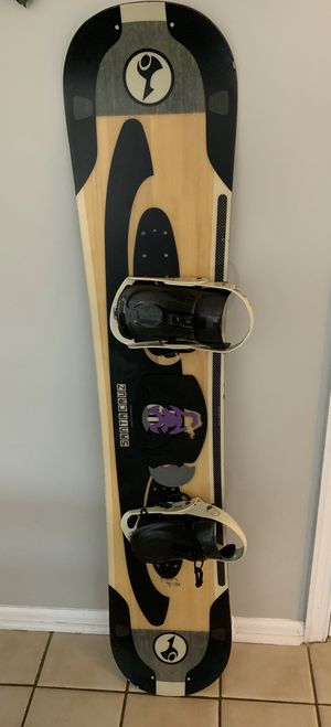 Santa Cruz Snowboard with Bindings and Bag for Sale in Rockville, MD