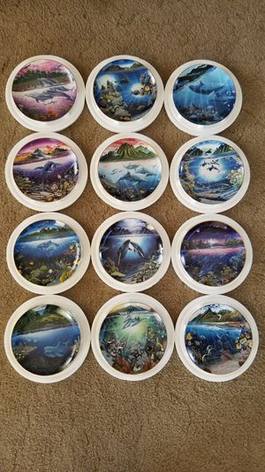 12 Collectible Dish Set for Sale in Dinuba, CA