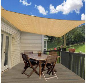14' x 18' Rectangle Sand Sun Shade Sail UV Block for Outdoor Patio Garden for Sale in Valdosta, GA