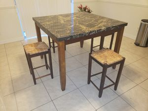 High kitchen table for sale for Sale in Miramar, FL