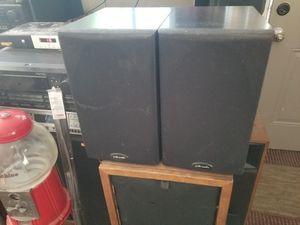 Polk Audio Bookshelf Speakers. $55 Pickup in Oakdale for Sale in Oakdale, CA