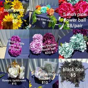 Silk flower lot for Sale in Fresno, CA