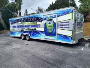 For Sale 28 ft Trailer with back door drop for Sale in Merritt Island, FL