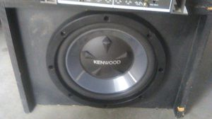 "Kenwood 12"" Subwoofer for Sale in San Jacinto, CA"