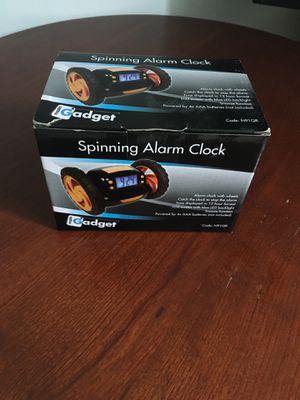 BRAND NEW Spinning alarm clock for Sale in McLean, VA