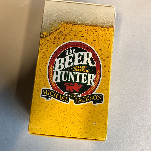 The Beer Hunter Rare VHS 3 Tape Set