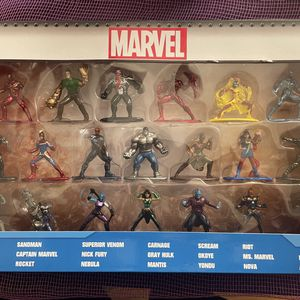 MARVEL Collectible Nano Metal Figures 20 Pack Wave 3 for Sale in Pico Rivera, CA