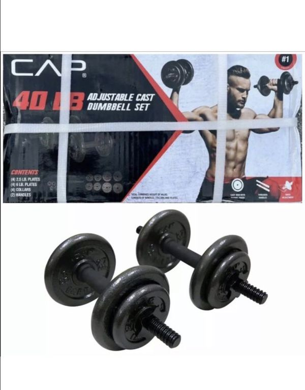 Weights / dumbbell set